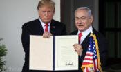 Donald Trump,Benjamin Netanyahu