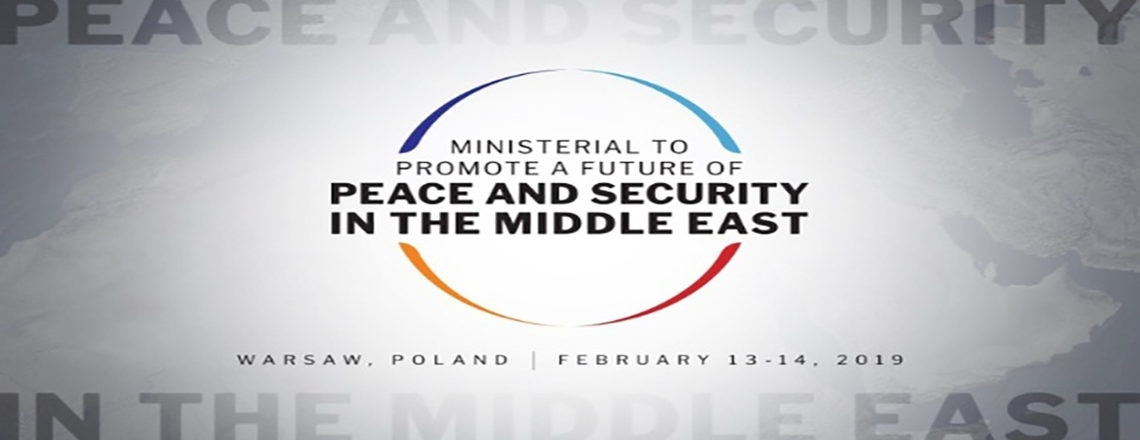 Ministerial To Promote a Future of Peace and Security in the Middle East