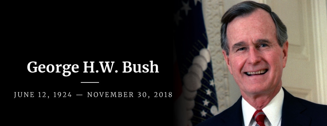 The Passing of Former President George H.W. Bush